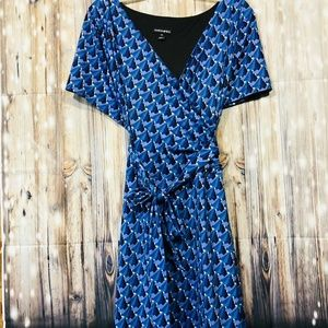 Fashion Bug Wrap Dress Size 3x